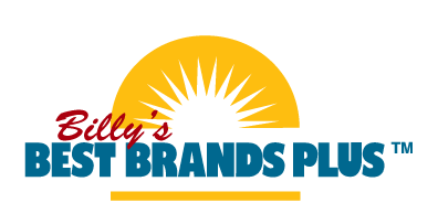 Billy's Best Brands Plus Logo